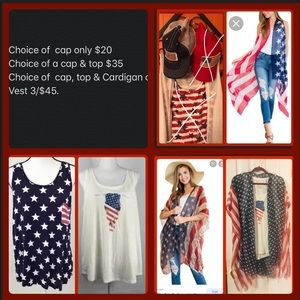 Other - All American Cardigan Bundle Set (3 pcs)